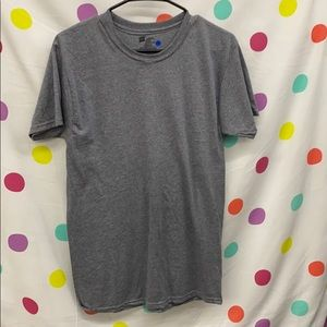 Hanes Plain Gray Short Sleeve Tshirt